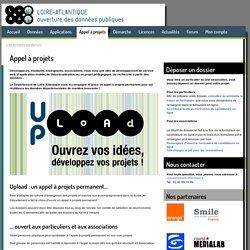 ouverture des données: Appel à projets