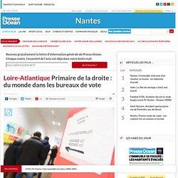 Loire-Atlantique. Primaire de la droite : du monde dans les bureaux de vote