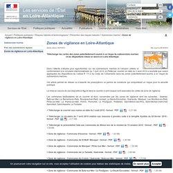 Zones de vigilance en Loire-Atlantique / Submersion marine / Prévention des risques naturels / Risques naturels et technologiques