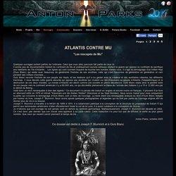 Atlantis Contre Mu 1- Anton Parks -