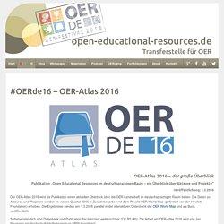 OER-Atlas 2016 – der große Überblick