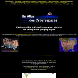 Un Atlas des Cyberespaces - Géographie