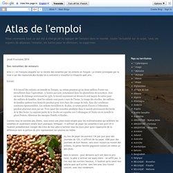 Atlas de l'emploi: Des noisettes de mineurs