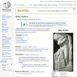 Atlas esclave