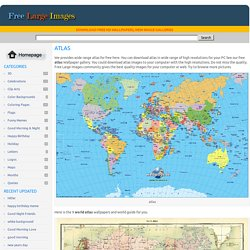atlas - Free Large Images