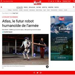 Atlas, le futur robot humanoïde de l'armée