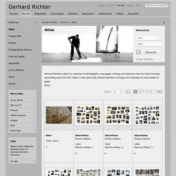 Atlas » Gerhard Richter