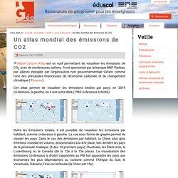 Un atlas mondial des émissions de CO2