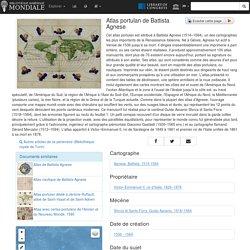 Atlas portulan de Battista Agnese - Bibliothèque numérique mondiale