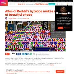 Atlas of Reddit's /r/place makes sense of beautiful chaos 2 clicks