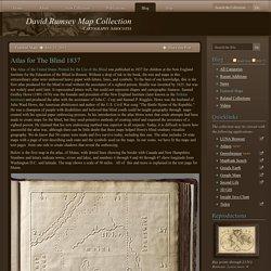Atlas for The Blind 1837