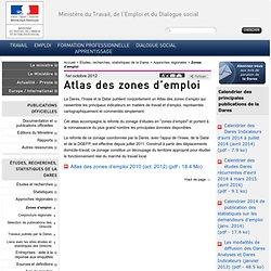 Atlas des zones d'emploi