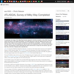 ATLASGAL Survey of Milky Way Completed