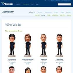 Leadership team, our team