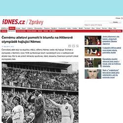 Černému atletovi pomohl k triumfu na Hitlerově olympiádě hajlující Němec
