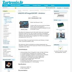 Arduino UNO Atmega328 [UNO] - 23,95€ : , Zartronic : Votre source Arduino en France