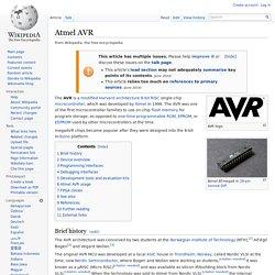 Atmel AVR