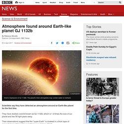 Atmosphere found around Earth-like planet GJ 1132b