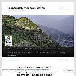 TS spé SVT : Atmosphère, hydrosphère, climats : du passé à l'avenir – Chapitre 4 suite et fin