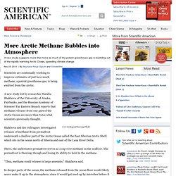 Arctic Methane Bubbles