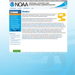 National Oceanic and Atmospheric Administration - Weather