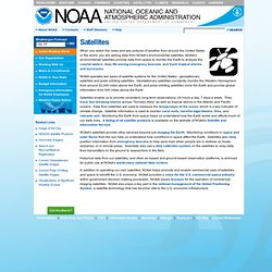 Home Page - NOAA Satellites Portal