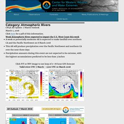 Atmospheric Rivers – Center for Western Weather and Water Extremes