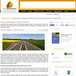 Pollution atmosphérique : l'agriculture exposée