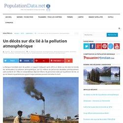 Un décès sur dix lié à la pollution atmosphérique
