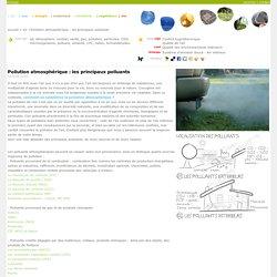 Pollution atmosphérique : les principaux polluants ''''ecologs ^^
