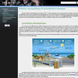 Pollution atmosphérique et réchauffement climatique - TPE N.Y.O