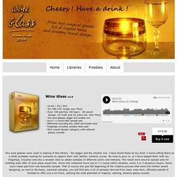 Atom Hub Wine Glass