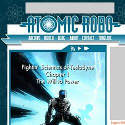 Atomic Robo - v1ch1 Cover