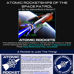 Atomic Rockets main page