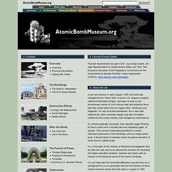 AtomicBombMuseum.org