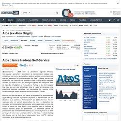 Atos : lance Hadoop Self-Service
