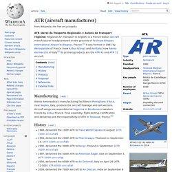 ATR (aircraft manufacturer)