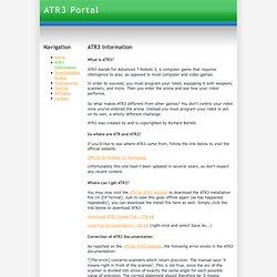 info - atr3portal