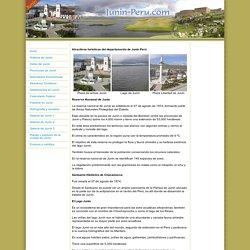 Atractivos Turísticos de Junin Peru - Centros Turístico de Junín Perú - Reserva Nacional de Junín - Santuario de Chacamarca