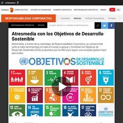 Atresmedia con los Objetivos de Desarrollo Sostenible
