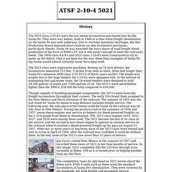 ATSF 2-10-4 5021