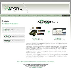 The ACETECH™ ADVANTAGE - ELITE - ECU - AVL