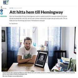 Att hitta hem till Hemingway - HD