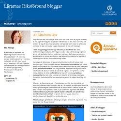 Att lära barn läsa - Mia Kempe