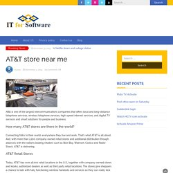 How to Check The AT&T Store Near Me