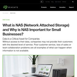 ¿Qué es NAS (almacenamiento conectado en red)