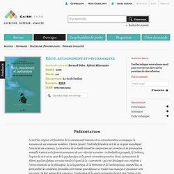 Cairn.info - Récit, attachement et psychanalyse, par Bernard Golse et Sylva
