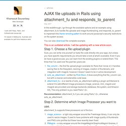 AJAX file uploads in Rails using attachment_fu and responds_to_parent - Khamsouk Souvanlasy