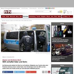 Attacke nach Knöllchen-Streit: SEK verhaftet Vater und Sohn