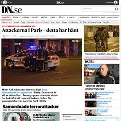 Attackerna i Paris – detta har hänt